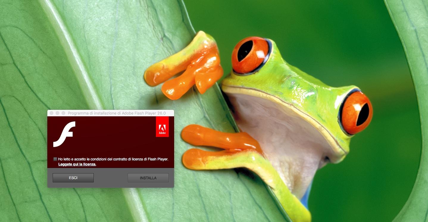 Adobe Flash Player va in pensione