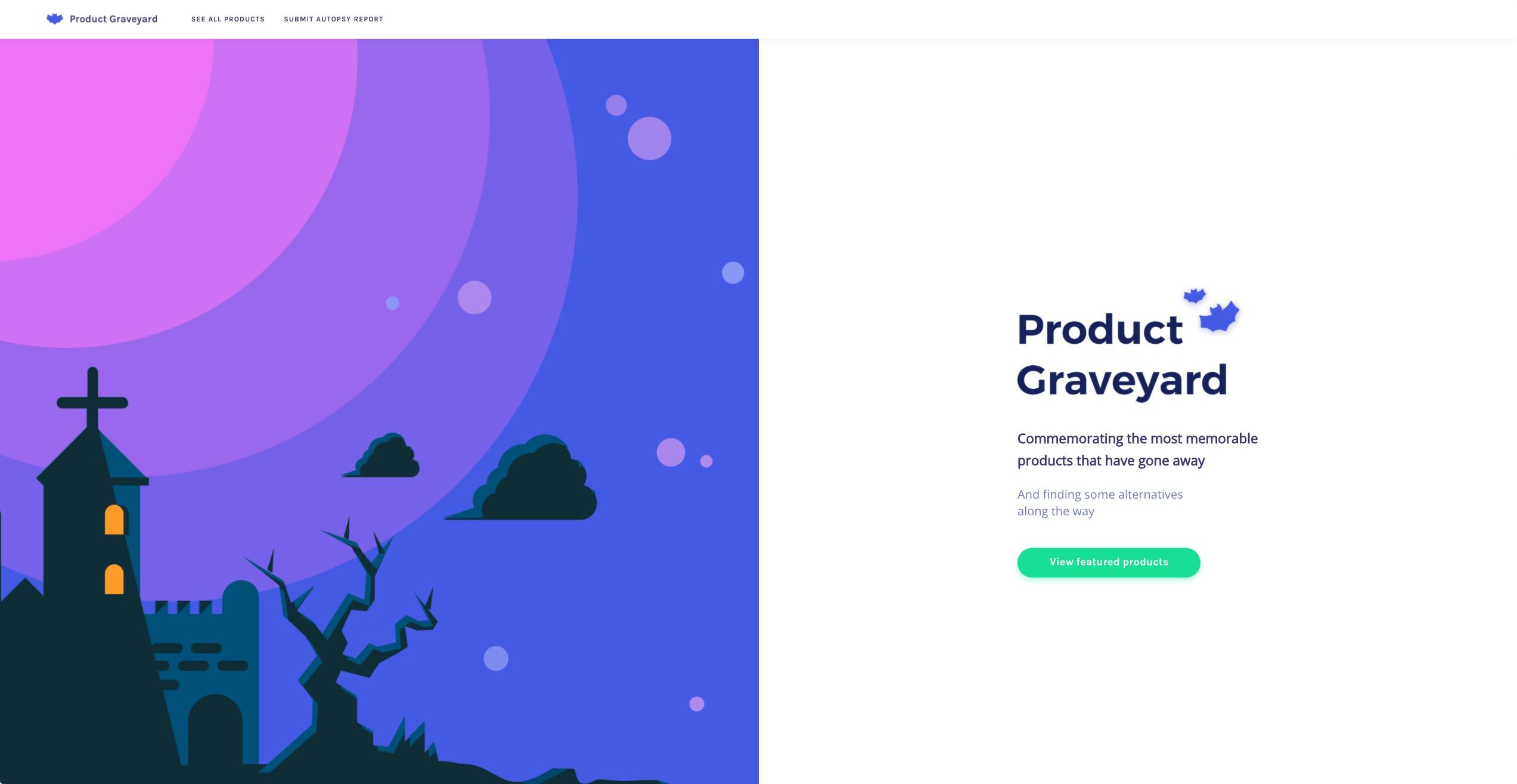 Product Graveyard